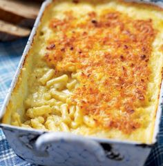 This recipe for a classic American macaroni cheese is a family favourite and can be cooked from frozen.