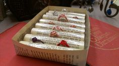 Ring Holder Made With Vintage Book Pages by MyCreeksideStudio