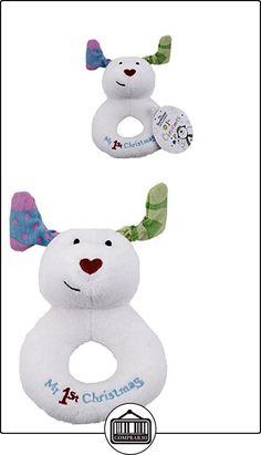 Rainbow Designs sm1368el muñeco de mi 1st Navidad de Jingle Bell anillo sonajero  ✿ Regalos para recién nacidos - Bebes ✿ ▬► Ver oferta: http://comprar.io/goto/B01B1MJQ8M