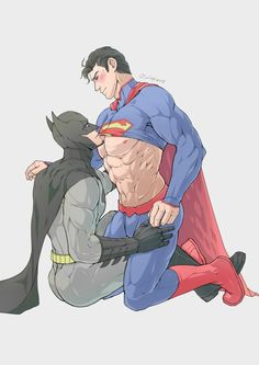 comic Superman art gay