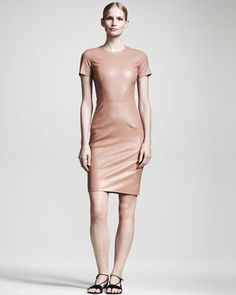Women's THE ROW Shiny Leather Dress,...     $3,450.00