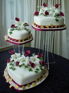 The Yetunde wedding cake, by Franziska of Wedding cakes by Franziska