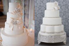 Romantic White Cakes