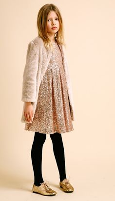 omg this is just beautiful. love the sparkly dress, the jacket, the oxfords, eveyrything.