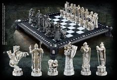 The Final Challenge Chess Set at noblecollection.com