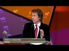 RAPHAEL.Premios Ondas 2015. Barcelona.24.11.2015.