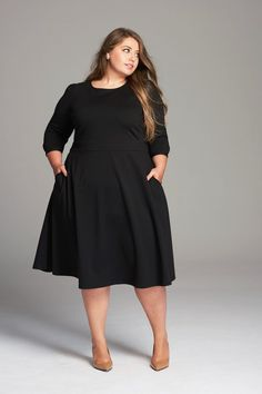 Girl With Curves Fall 2017 Collection Little Black Dress