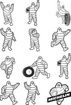 Michelin Men Bibendum