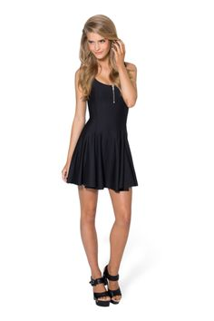 Matte Evil Zip Dress › Black Milk Clothing Oooh this would be PERFECT! <3