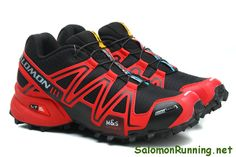 946b1b19d49d1 Discount Salomon online shop-Salomon shoes Speedcross 3 CS Red Black