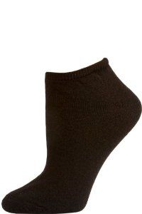 American Made Women's Black No Show Socks - 3 Pairs - Black by Alabama Wholesale. $7.95. These American Made socks don't show under shoes making them perfect for all occasions! Our women's no show socks have breathable cotton blend fibers and a cushioned sole to offer a comfortable fit. Each pack comes with three pairs of women's no show athletic socks in black. Made in the USA.. Save 13% Off!