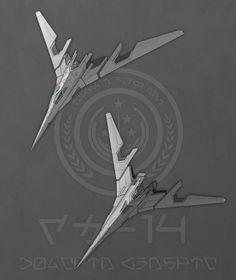 Forellan Space Navy Dolphin Mark XIII by firestrike2
