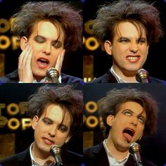 I will crush on Robert Smith forever.