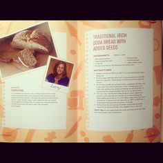 """photo: """"Very excited to get a copy of cookbook with my health boosting soda bread in it :)"""" Traditional Irish Soda Bread, Self, How To Get, Wellness, Health, Life, Food, Health Care, Eten"""