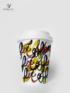 Coffee / Tea Paper Cup Design on Behance