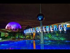 Ellen's Energy Adventure Area Theme Music