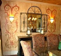 Dining Room Walls - traditional - Spaces - Other Metro - The Artists Hands - Faux Finishes