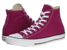 Converse Chuck Taylor® All Star® Seasonal Color Hi Pink Sapphire - Zappos.com Free Shipping BOTH Ways
