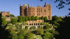 Powis Castle.  Home of the ancient kings of Powys including the 28th great grandfather of the kids from 1055.