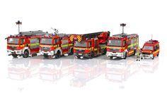 Lego City Fire Truck, Fire Trucks, Vw T5, 4x4, Lego Fire, Lego Police, Lego Models, Lego Technic, Diecast