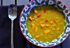 Red Lentil Sweet Potato Stew | Reluctant Entertainer