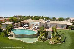 Luxury 4 bedroom villa with heated pool in Funchal Ridge, Lagos, Algarve, Portugal #funchalridge #lagos #algarve #portugal