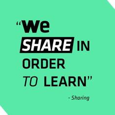 Because sharing is important - Perché la condivisione è importante #SMM #Marketing #Communication #whySdB