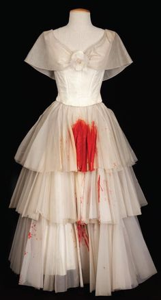 Bette+Davis+%E2%80%9CCharlotte%E2%80%9D+Ivory+chiffon+dress+with+simulated+blood+stains+from+Hush%E2%80%A6Hush%2C+Sweet+Charlotte.+%28TCF%2C+1964%29.jpg 599×1,114 pixels