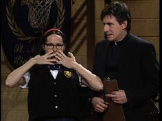 Saturday Night Live: Molly Shannon as Mary Katherine Gallagher #SNL