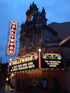 Hollywood Theatre In Portland, OR. An Old Style Movie Palace With Modern  Technology Whose Mission Is To Entertain, Inspire, Educate And Connect Theu2026