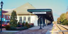 Southern Pines Historic Train Station
