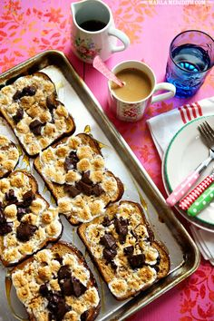 S'mores French Toast | FamilyFreshCooking.com