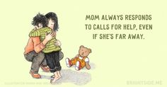 15 wonderfully tender postcards dedicated to our beloved moms