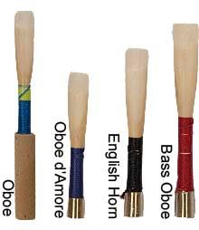 Oboe Reed Family