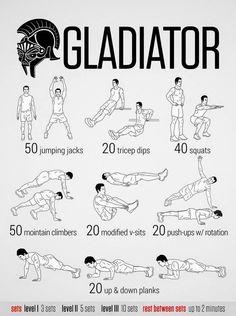 Entrenamiento Gladiador