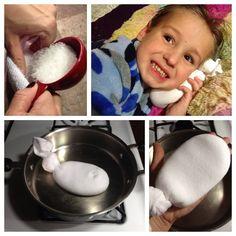 DIY Magical Salt Sock for Ear Infection Relief #diy #tips #homeidea