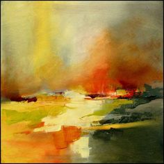 These modern landscapes by artist Gérard Mursic are beautiful. The depth that is achieved through the use of layering colors and brush/knife work is what really make an impression for me. I could see any of these works fitting into and enhancing any mid century furnished home. http://www.mursic.odexpo.com/