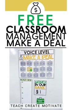 Looking for a classroom management game that address multiple classroom expectations while having fun and keeping students engaged? Make a Deal game. Classroom Expectations, Classroom Behavior, Classroom Community, Future Classroom, School Classroom, School Teacher, Classroom Decor, Fun Classroom Games, Classroom Organization