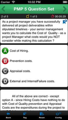 iPhone Screenshot 4 Get ready for the PMP based on PMBOK5
