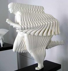 """Runner"", Motion Sculpture by Peter Jansen Modern Art, Contemporary Art, Contemporary Sculpture, Instalation Art, Photos Originales, 3d Fantasy, Principles Of Design, 3d Prints, Art Moderne"