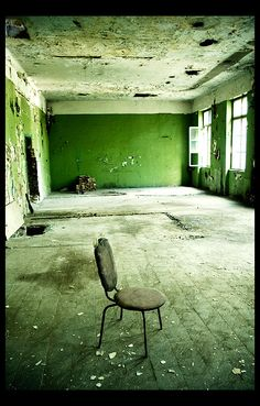 I've always had a facination with abandoned places......