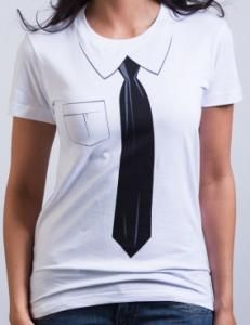 Dress Shirt And Tie t-shirt