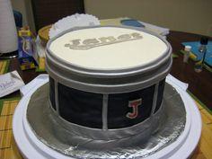 A Chocolate Drum Cake!