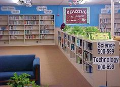 High School Library Decorating Ideas | LIBRARY MEDIA CENTER