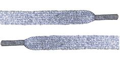 "Metallic Flat 3/8"" Wide Shoelaces Solid Color For All Shoes 36"" and 45"" Lengths (Silver-36) BC Laces http://www.amazon.com/dp/B00FVQ6NMC/ref=cm_sw_r_pi_dp_5YA5tb0NMRP5N"