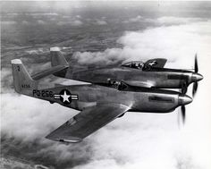 The F-82 Twin Mustang the last American piston-engine fighter. [1300x1044]