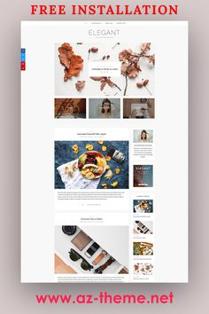 WordPress Theme Blog – Responsive WordPress Template – Feminine Wordpress Theme – Elegant. This WordPress theme is ideal for both kind of Bloggers, beginners as well as for professional Bloggers. The beauty of this theme is its simplicity. #wordpress #blog #theme
