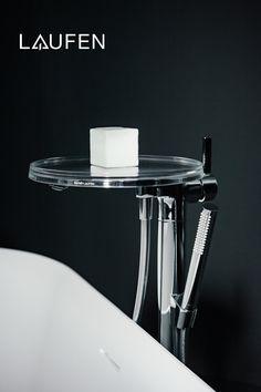 Design Bathroom, Bathroom Sets, Modern Bathroom, Laufen Bathroom, Complete Bathrooms, Use Of Plastic, Transparent Design, Shower Faucet, Baths