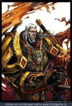 Human Paladin by Wang Yuxi » Галерея » World of Warcraft