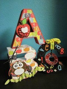 ::ABC 3D Letters Gift:: - Scrapbook.com